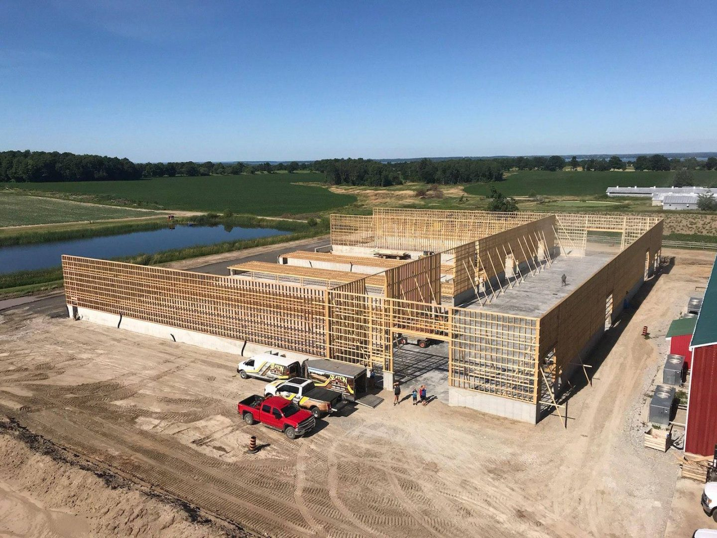 Construction new facility august2018a