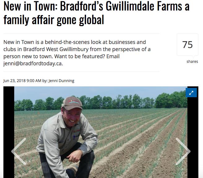 Bradford Gwillimdale Farms
